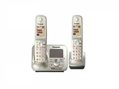 Panasonic Cordless Phone 2.4GHz KX-TG3722SXN (Silver)