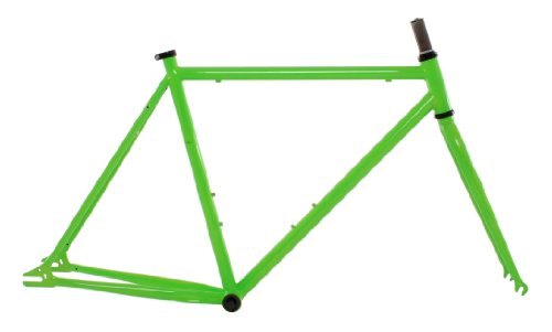Vilano Chromoly Fixed Gear Track Road Bike Frame and Fork Set, Green, 54cm/Medium (Road Bike Frame Set compare prices)