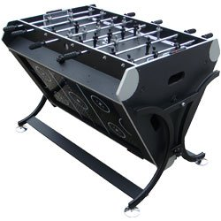Trademark GamesT 7 in 1 Rotating Game Table Black and Silver. Product Category: Toys & Games > Table Games