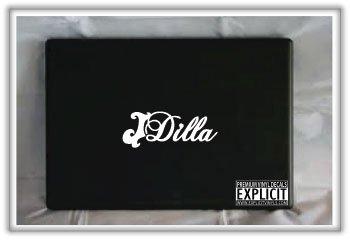 J Dilla Macbook Laptop Car Truck Boat Decal Skin Sticker
