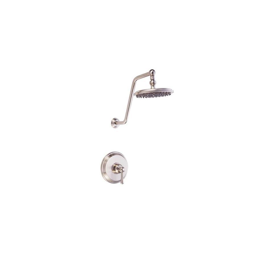 Opulence Single Handle Shower Faucet, Brushed Nickel