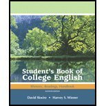 The Student's Book of College English (Books a la Carte) (0321416740) by Skwire, David