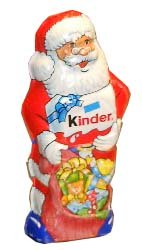 Kinder Santa Chocolate Large ( 110 g )