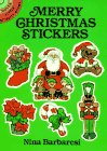 Merry Christmas Stickers (Dover Little Activity Books Stickers)