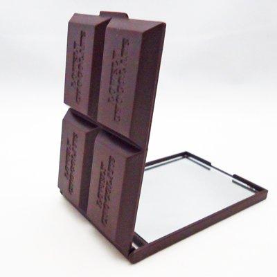ダークチョコレート コンパクトミラー