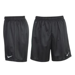 Nike Jaquard Mens Football Shorts S Black