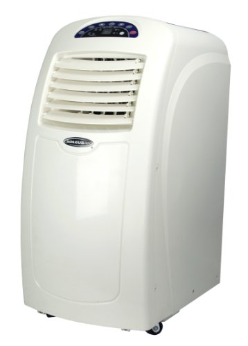 Soleus Air 10,000 BTU Portable Electric Air Conditioner AC with Dehumidifier - Manufacturer Refurbished