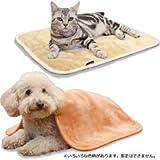 ドギーマン 2013年秋冬 犬猫用毛布 ほわぽか 掛け敷き毛布 M 【カラーアソートお色は選べません】