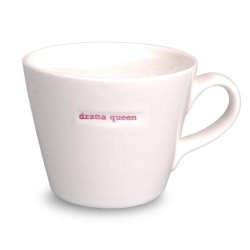 Make International Keith Brymer Jones Word Range Bucket Mug, Drama Queen (Make International compare prices)