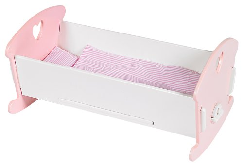 Small World Toys All About Baby Dolls - Cozy Crib (Dolls Only) front-720289
