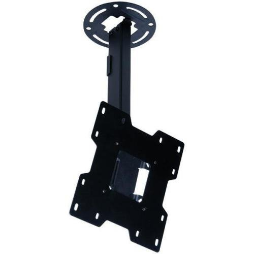 Peerless Pc932A Adjustable Tilt Ceiling Mount For 15 Inch To 37 Inch Displays With 9.8 Inch To 13.8 Inch Extension Black