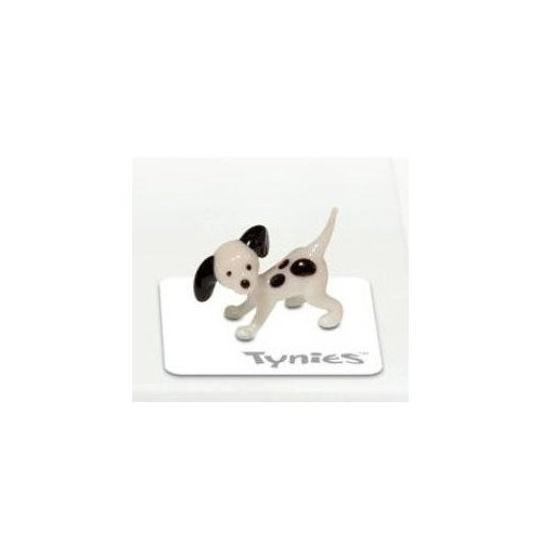 Tynies Animals Mia - Dog Dalmation * Colors May Vary * Glass Figure