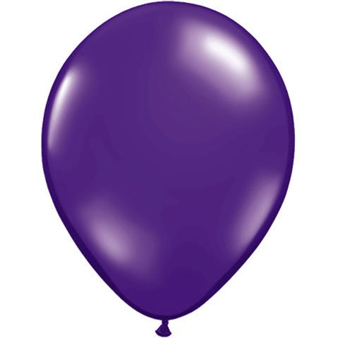"9"" Quartz Purple Balloons (10"