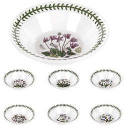 Portmerion - Botanic Garden - Oatmeal Bowl Set of 6 Oatmeal Bowl Set of 6 . As shown