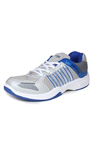 Columbus-Men-Grey-Blue-Sports-Shoes