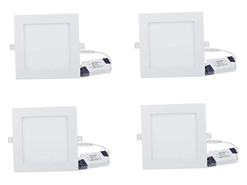 Champion 12w Square LED Ceiling Panel light -Pack of 4pcs
