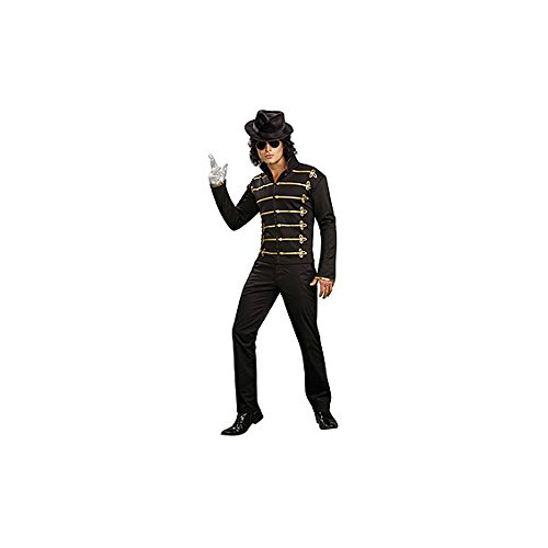 Michael Jackson Black Military Jacket Costume