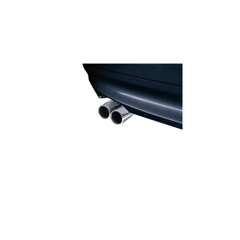 Genuine OEM BMW Chrome Tailpipe Trim (3 Series Sport