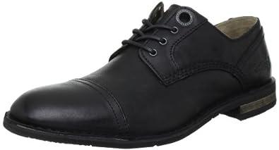 Kickers Edgy, Chaussures à lacets homme - Noir, 40 EU