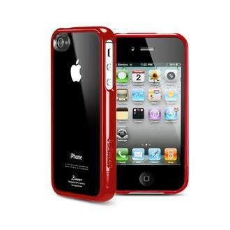 国内正規代理店品SPIGEN SGP iPhone4/4S ケース リニア クリスタルシリーズ [ダンテレッド] SGP07532