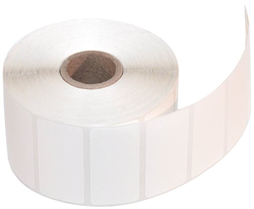 CompuLabel Direct Thermal Labels, 2-Inch x 1 Inch, White, Roll, Permanent Adhesive, Perforations Between Labels, 1300 per Roll, 12 Rolls per Carton (530550)