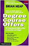 The Complete Degree Course Offers 1999