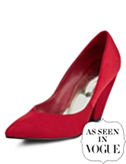 Limited Edition Pointed Toe Court Shoes with Insolia®