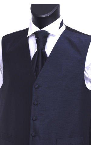 Men's Wedding Waistcoat - Navy Blue