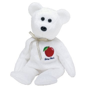 TY Beanie Baby - NEW YORK STATE the Bear (State Exclusive)