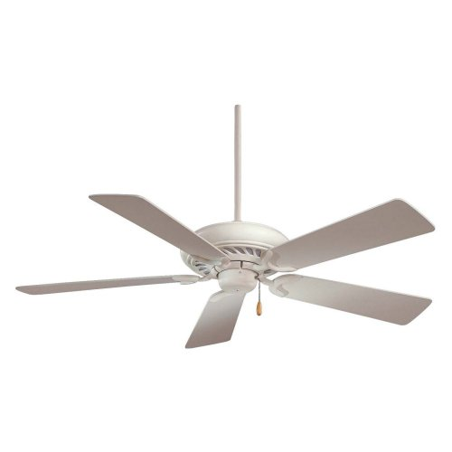 Minka Aire F568-SWH Supra 52 in. Indoor Ceiling Fan - Shell White - ENERGY STAR