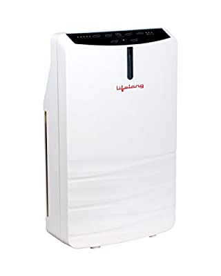 Lifelong Breathe Healthy 45-Watt Room Air Purifier (White)