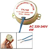 Microwave Oven Synchronous Motor 33RPM 4W AC 220-240V 50/60Hz CW/CCW
