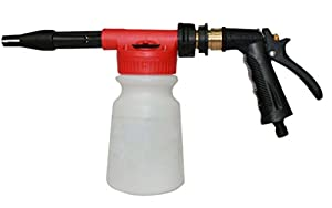 Crusar Car Washing Foamaster Gun And Multifunctional Portable Water foam-Water Soap And Shampoo Sprayer For Car Van Motorcycle Vehicle