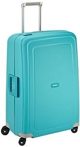 Samsonite Valise S'cure Spinner 75/28 75 cm 102 Liters Bleu (Aqua Blue) 49308