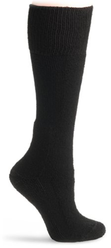 Thorlo Men's Combat Boot Overcalf Socks, Black, Large