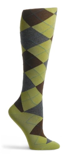 HUE Women's Argyle Knee Sock