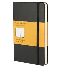 Moleskine Ruled Notebook Pocket (Moleskine Classic)