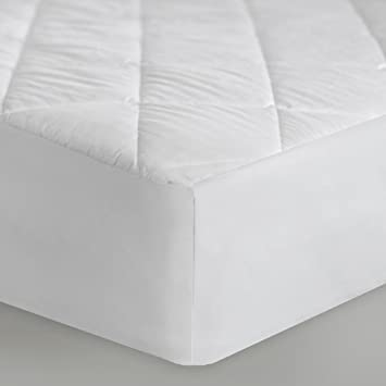 Sleep Tite by Malouf MATTRESS PAD Quilted Mattress Pad - Filled with Gelled Microfiber - Queen