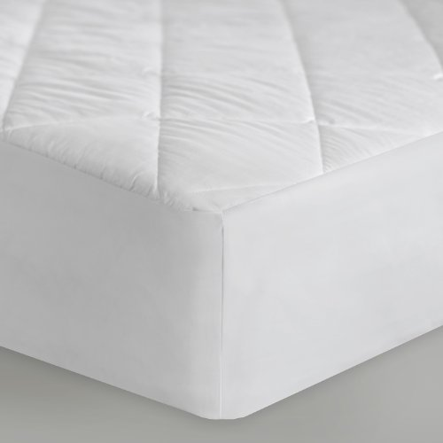 Fantastic Deal! Sleep Tite by Malouf MATTRESS PAD Quilted Mattress Pad - Filled with Gelled Microfib...