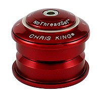 Chris King Inset 1 Griplock Headset (I1) Red