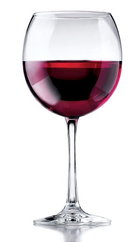 Libbey Vina Round Red Wine Goblets, 18-1/4-Ounce,