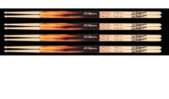 Zildjian Travis Barker White Drumstick Pack, Buy 3 Get 4