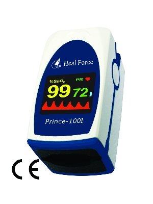 Heal Force Prince 100I Fingertip Pulse Oximeter + Probe Port