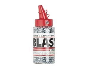Blaster Stahlrundkugeln BBs .177 Kal. 4,5mm, 1500 Stück