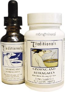Ginseng and Astragalus Combination 1 oz by Kan Herbs
