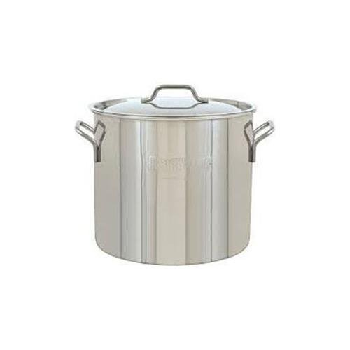 Barbour 1430 30 Qt Brew Kettle Stainless Steel Stockpot (Stainless Steel 30 Quart Pot compare prices)
