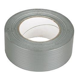 Single Sided Waterproof 50mm x 4.5m Silver Ducting Tape