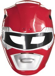 Red Ranger Vacuform Mask Costume Mask