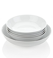 5 Piece Maxim Coupe Pasta Bowl Set
