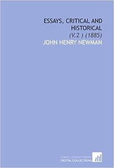 published critical essays on john